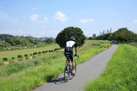 多摩川サイクリング