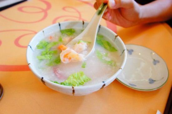 粥菜坊(かゆなぼう) エビとイカの粥 武蔵小杉