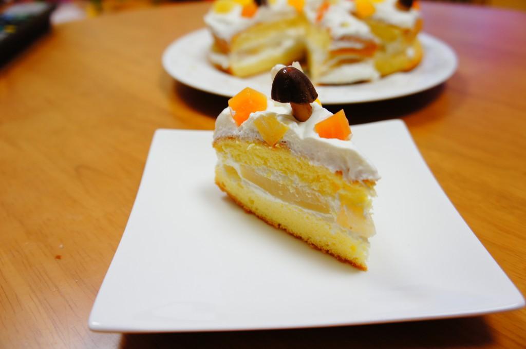 ダイエット誕生日ケーキ