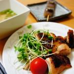 ダイエット食事メニュー 鶏肉ソテー