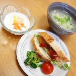 ダイエット食事メニュー ソーセージサンド