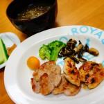 豚肉のソテー ダイエットメニュー