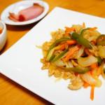 野菜のポン酢炒め ダイエットメニュー