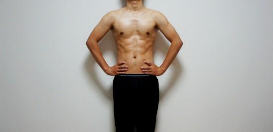 2ヶ月ダイエットの結果 腹筋